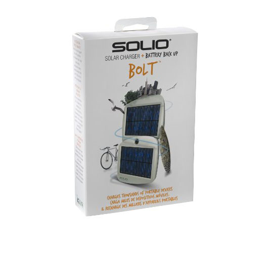 Solio Bolt Battery Pack and Solar Charger
