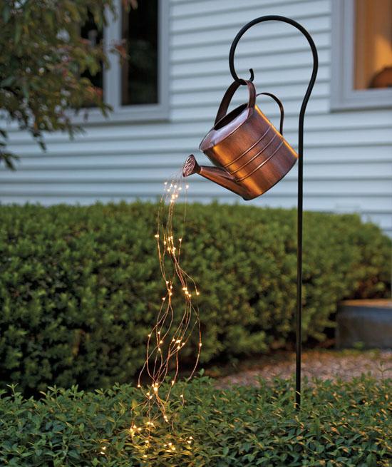 Beautiful Garden Lamp - Star Shower Garden Art