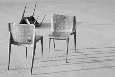 Newspaper Chair