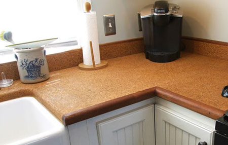 Suberra Cork Countertops Your Eco Friendly Kitchen Interiors Inside Ideas Interiors design about Everything [magnanprojects.com]