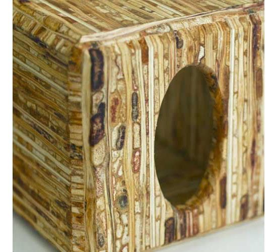 Sustainable Kirei Sorghum Grass Tissue Box Cover