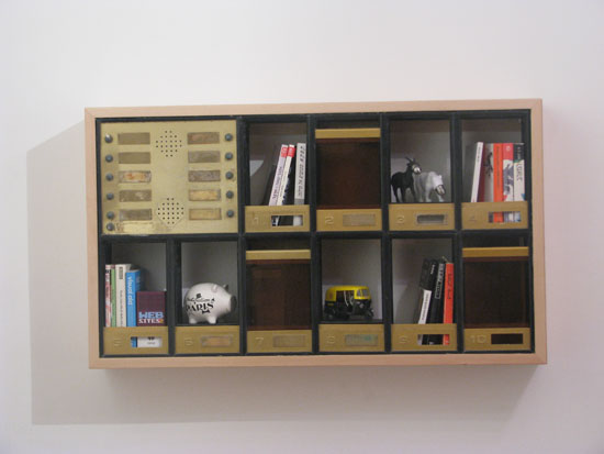 Sustainable Mail Bookeand Storage Shelf