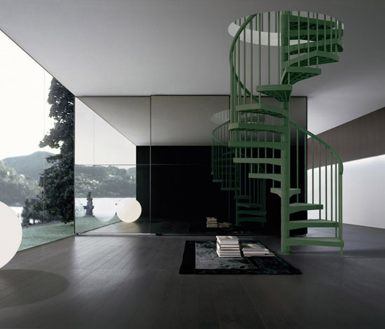 Techne Sustainable Staircase Design by Laura Fontanot