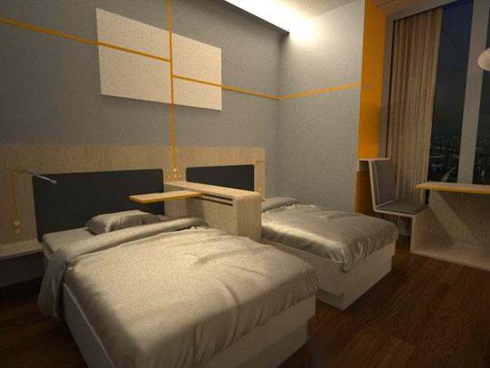Sustainable Hotel Room