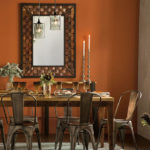 Beautiful and Elegant Sutton Recycled Copper Mirror Is Made of Recycled Iron