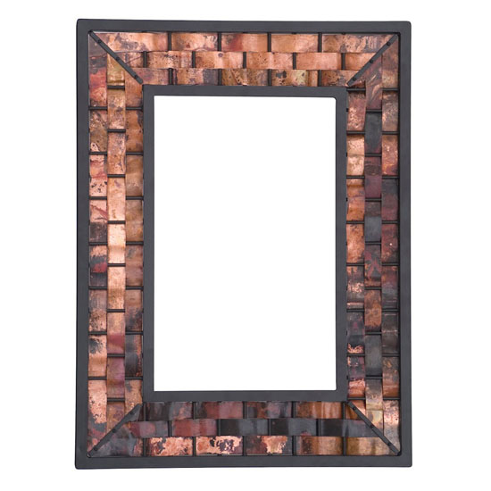 Sutton Recycled Copper Mirror