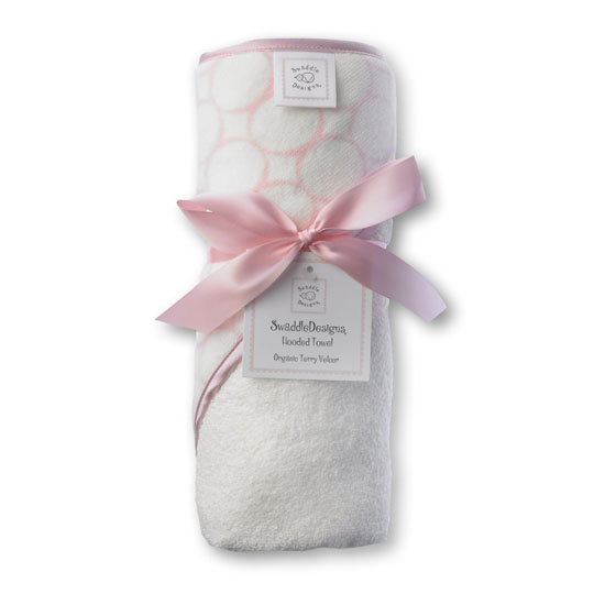 Swaddle Designs Organic Cotton Hooded Towel