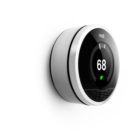 The Nest Learning Thermostat