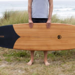 Tide X Otter Sustainable Surfboard Is Sourced from Sustainable Woodlands