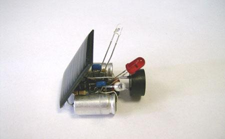 Tiny Solar Robot