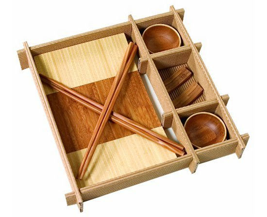 Let Your Friends Enjoy Sushi With Care To The Environment Using The Totally Bamboo Sushi Gift Set