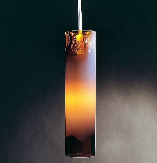 Totally Tubular Small Drop Pendant by Condor Lighting