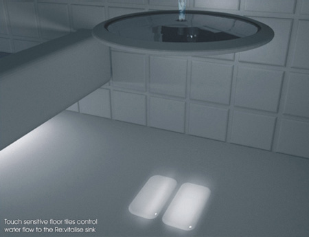 Touch Sensitive Bathroom