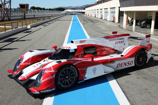 Toyota Is Back On Track For Le Mans With The Toyota TS030 HYBRID