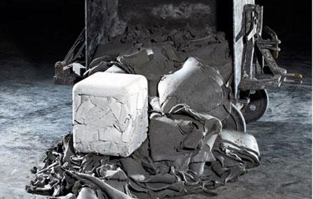 Trash Cube Stool