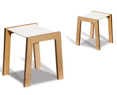 Tris Stool  sc 1 st  IGreenSpot & Tris Stool From Kulla Design | Green Design Blog islam-shia.org