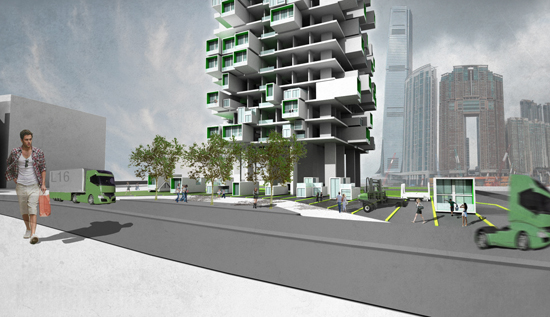 Unit Fusion High Rise Residential Building Concept Can The Newest Eco Friendly