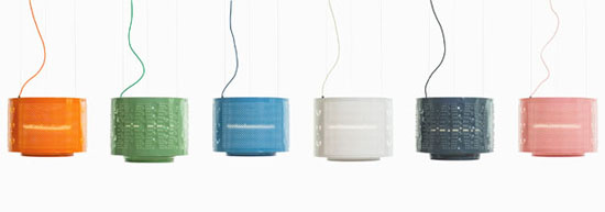 Up-cycled Washing Machine Drum Lamp by Willem Heeffer