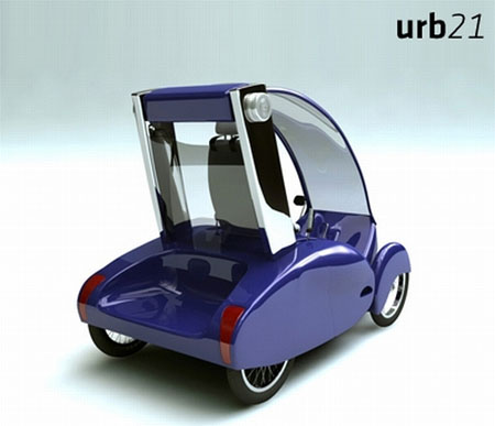 URB21 Pedal Powered Vehicle