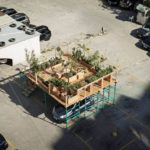 Urban Hives Project Installs Structures in Parking Lots to Create Urban Farming