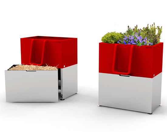 Uritrottoir : Urinal Planter