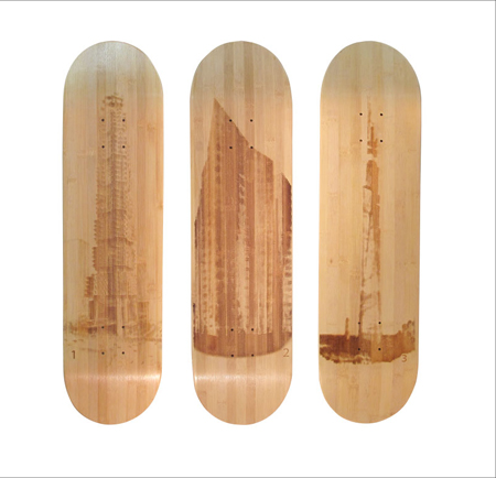 Utopian Bamboo Skateboard