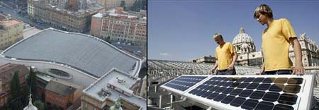 Vatican Goes Solar Powered