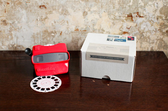 Viewmaster Invitation
