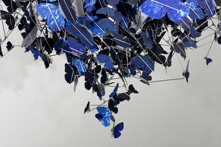 Virture Blue Chandelier