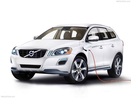 Volvo XC60 Plug-in Hybrid Concept Car