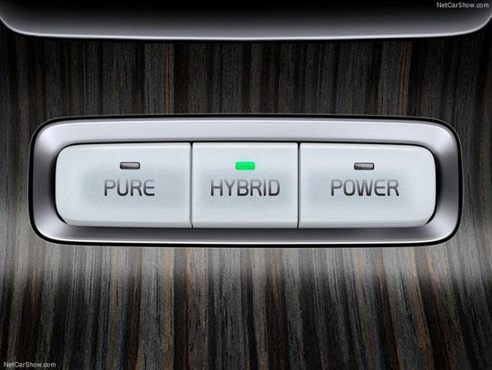 Volvo XC60 Plug-in Hybrid Concept Car