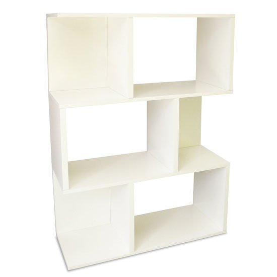 Way Basics Eco 3-Shelf Madison Bookcase and Storage