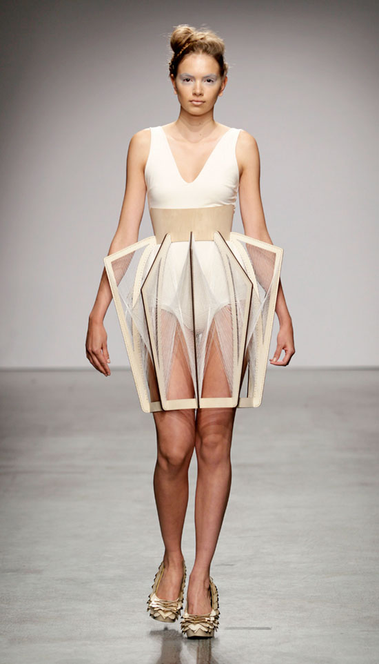 Experience Eco Fashion With The Of Winde Rienstra Ss2012
