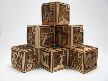 Learn And Help The Environment with The First Wooden Alphabet Blocks