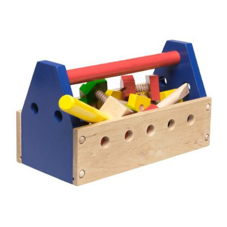 Wooden Tool Kit Toy for Kids Review | Green Design Blog