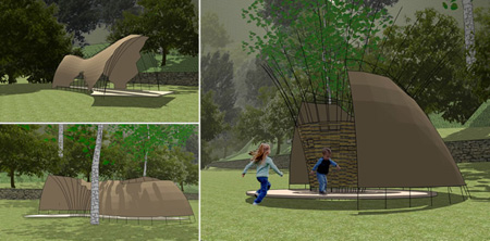 Woodland Canopy & Woodland Canopy: An Eco-Friendly Shelter | Green Design Blog