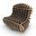 Cardboard Lounge By David Graas