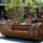 Pile Isle Bamboo Bench: A Sustainable Outdoor Furniture