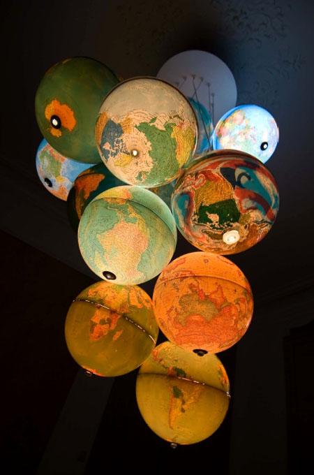 World Inside Out Chandelier
