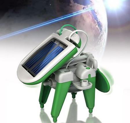 Solar Powered 6 in 1 Robot