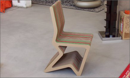 Arrow Cardboard Chair