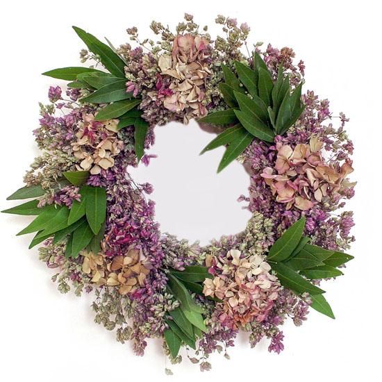 Artisanal Hydrangea Wreath