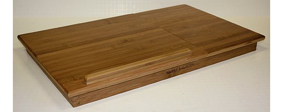 Bamboo Laptop Computer Desk and Serving Tray