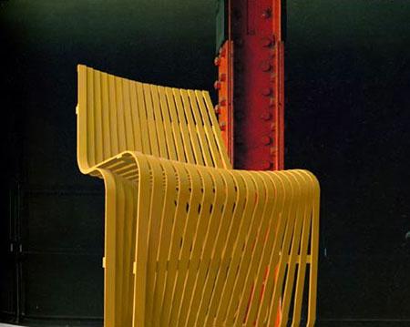 Bamboo Slats Chair