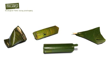 banana leaf packaging