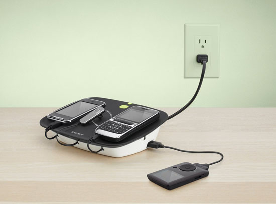 Belkin Energy-Saving USB Charging Station