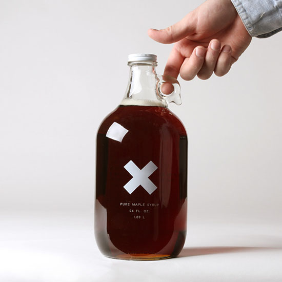 Big Jug Of Pure Organic Maple Syrup