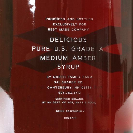 Big Jug Of Pure Organic Maple Syrup