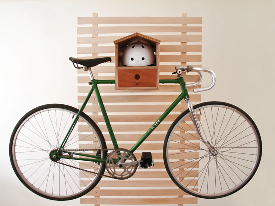 Bike Rack Birdhouse
