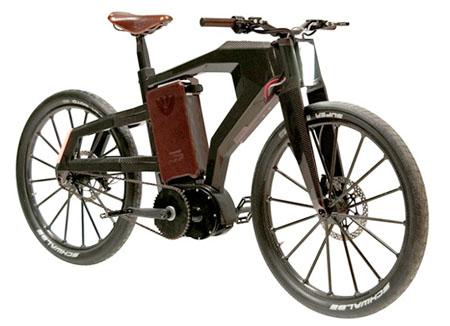 Black Trail Bike